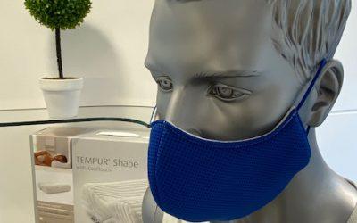 Maske aus Eigenproduktion