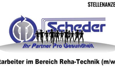 Mitarbeiter im Bereich Reha-Technik (m/w/d)